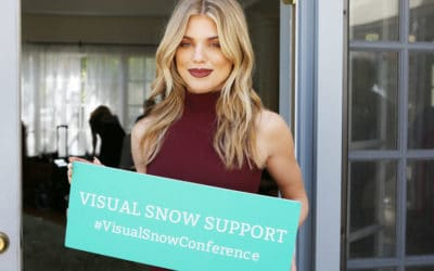 AnnaLynne McCord Raises Awareness For Visual Snow Conference