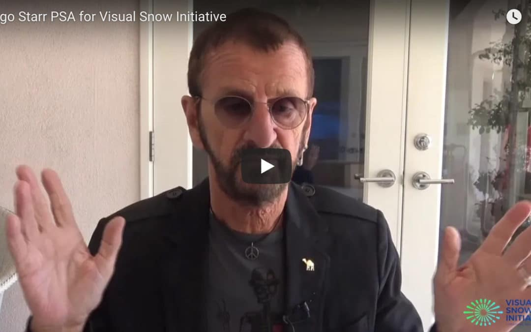 Ringo Starr Supports The Visual Snow Initiative In New PSA