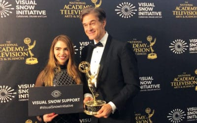The Visual Snow Initiative Raises Awareness At 45th Daytime Emmy Awards