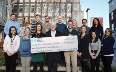 Visual Snow Initiative Raises $100,000 For Visual Snow Research At King's College London