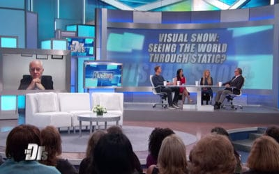 Visual Snow Featured On CBS' The Doctors