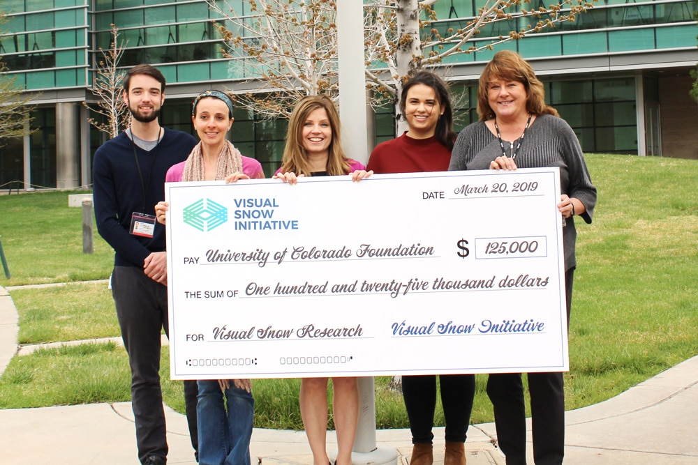 Visual Snow Initiative Raises $125,000 for Visual Snow Research at University of Colorado