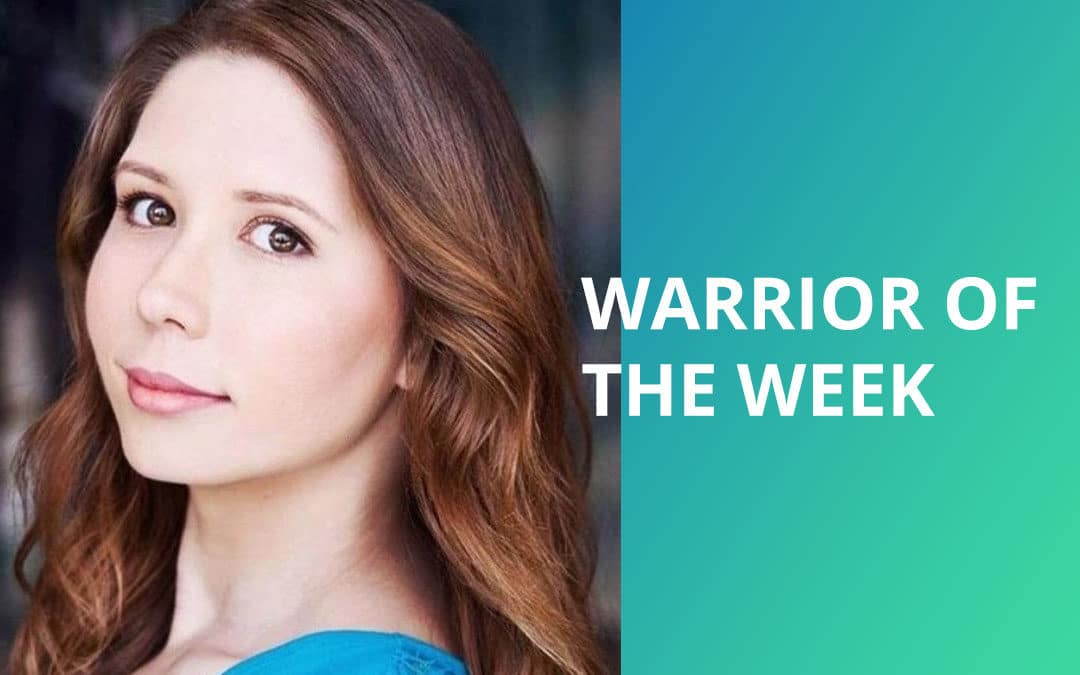 Visual Snow Warrior of the Week – Sasha Stevenson