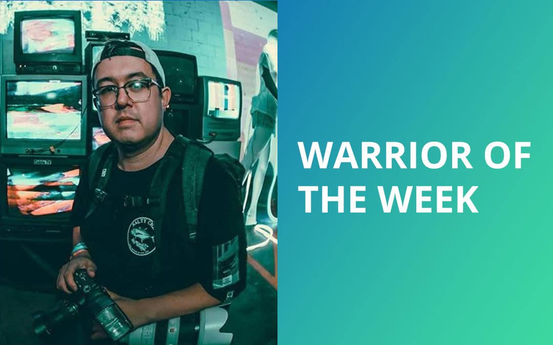 Visual Snow Warrior of the Week – Chris Taylor