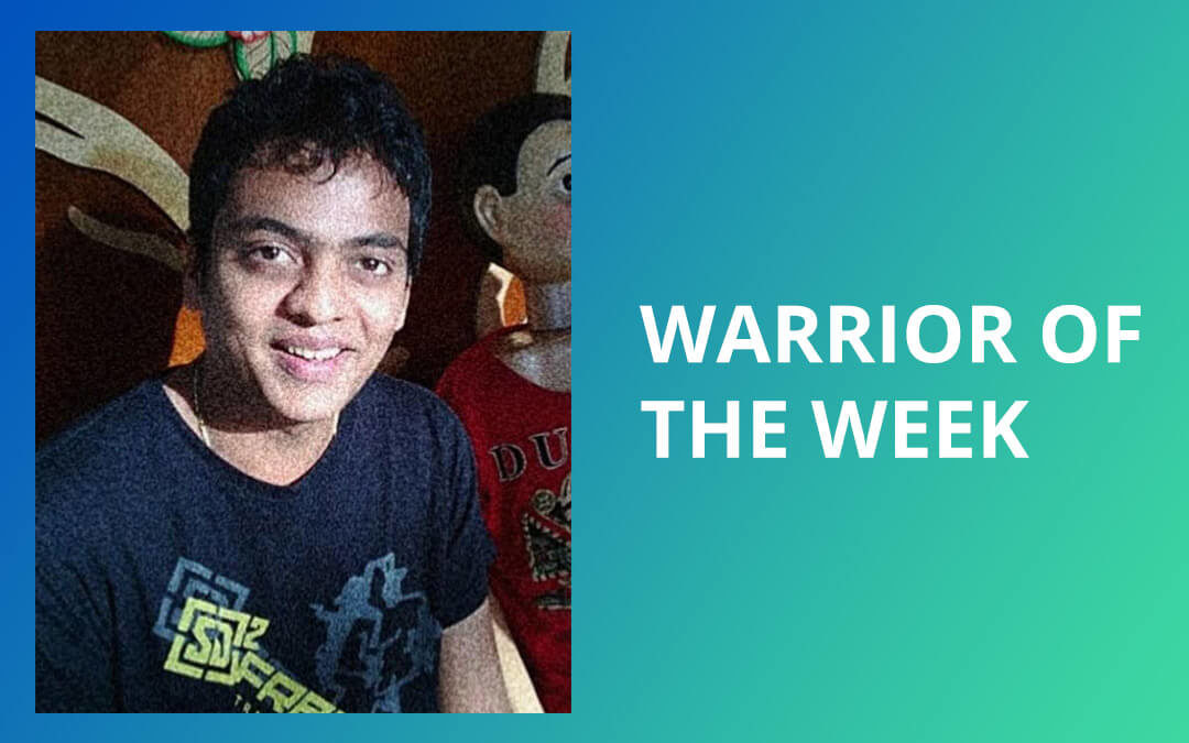 Visual Snow Warrior of the Week – Jeeten Patel